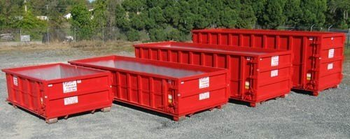 our dumpster rental service